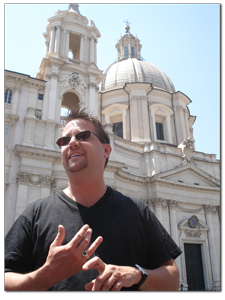 travel to italy with tour guide Paolo Carman of Keyrow Tours