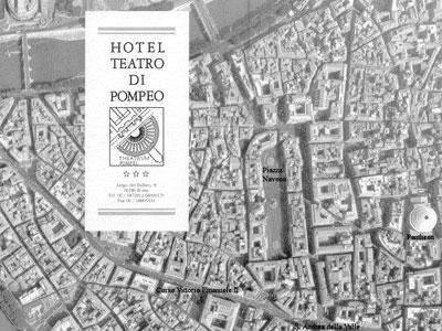 Hotel Teatro Pompeo in Rome